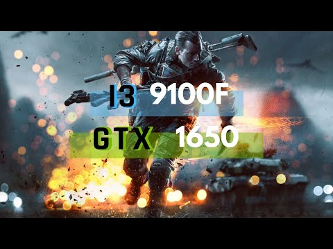 Battlefield 4 - GTX 1650 + I3 9100 - Ultra, High And Low Settings Benchmark
