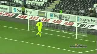 Worlds Longest Headed Goal 57 metre 2011 (good quality) Jone Samuelsen thumbnail