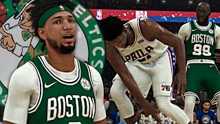 THE GOAT HAS RETURNED! Tacko Fall DUNKED On EMBIID! NBA 2K20 Eli Harris #1