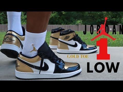 Air Jordan 1 Low Gold Toe Review