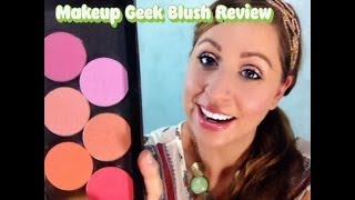 Makeup Geek Blush Review Thumbnail