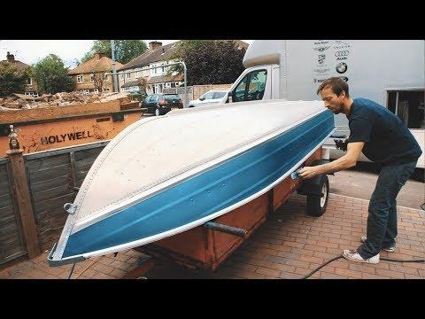 Painting aluminium boat - Sea Nymph 12k