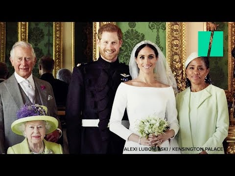 Royal Wedding Photos Released