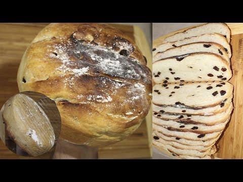 Pan con Pasas casero ( olla gm o Horno )