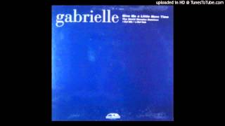 Gabrielle~Give Me A Little More Time [David Morales Def Dub Mix]