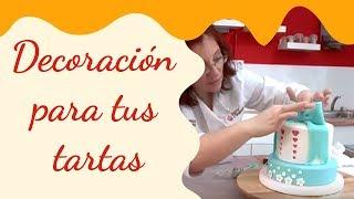 Originales recursos decorativos para tus tartas: Súper lazos / Superposiciones / Vaciados