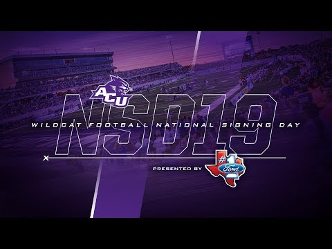 ACU Football | Signing Day Show