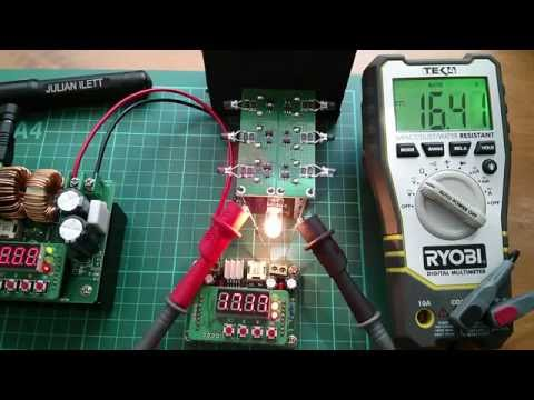 Playing with: SuperCapacitor Module 6x 120F 2.7V