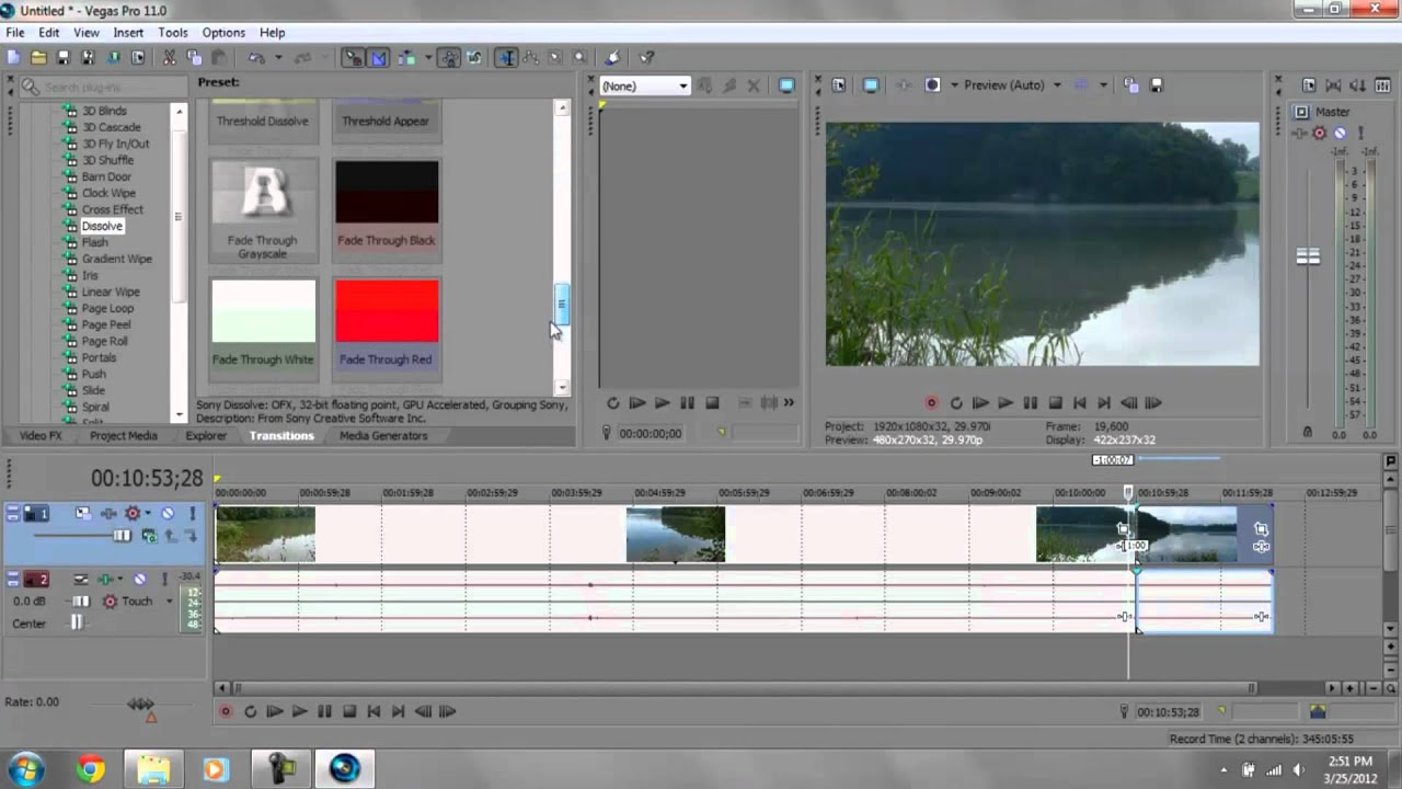 Sony vegas pro tutorial adding video fx and transitions youtube.