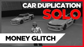 GTA 5 *PATCHED* - BRAND NEW - SOLO! CAR DUPLICATION GLITCH - UNLIMITED MONEY!