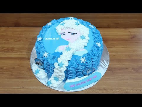 Cara Membuat Kue Ulang Tahun Bentuk Frozen