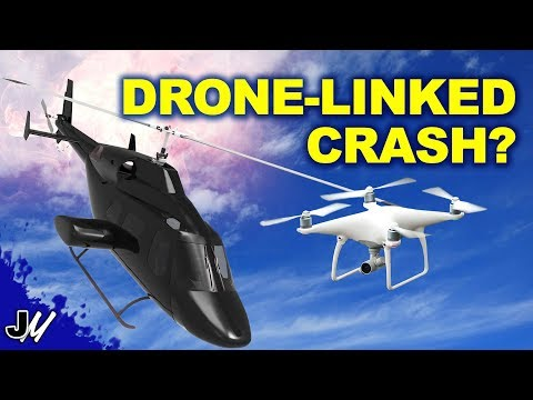 Drone Crashes Helicopter | What Will The FAA Do Now?