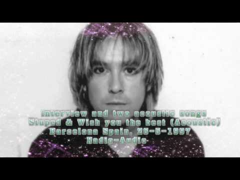 Per Gessle Radio interview and two acoustic songs Spain 26-5-1997
