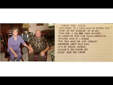 Cowboy Church Of The Air , Carl & Doris Mustain, May 8, 1994