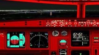 Flight Simulator 98: Landing at Chicago O'Hare runway 14R