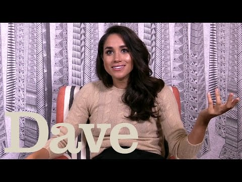 Meghan Markle Quizzed On Britishness | Suits | Dave