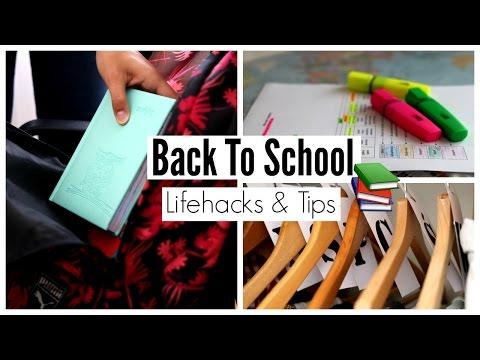 Back To School 2016 - Lifehacks & Tips   WorldOfVicky