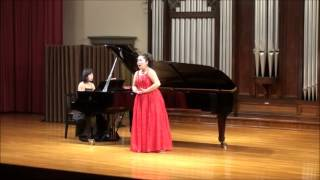諸田広美 Hiromi MOROTA:ヴェルディ「アヴェ・マリア」 Verdi 'Ave Maria'