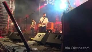 Concierto de Viva Suecia en el South Pop Isla Cristina 2016