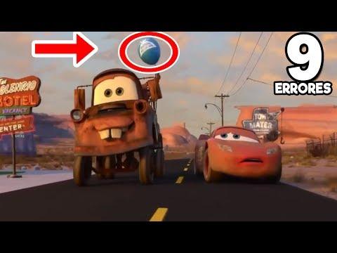 9 Errores más Increíbles de las Películas Cars 1 | Cars 2