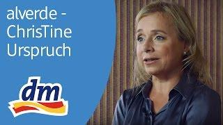 alverde Magazin - Interview des Monats mit der Schauspielerin ChrisTine Urspruch