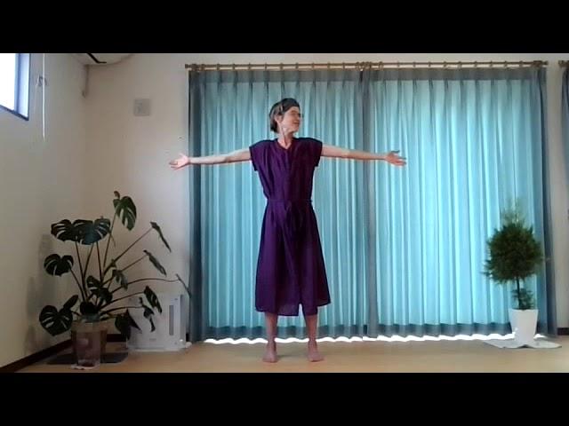 English yoga lesson: sense and sensation