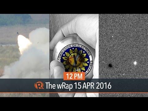 Leaked Comelec data, Balikatan exercises, ExoMars   12PM wRap