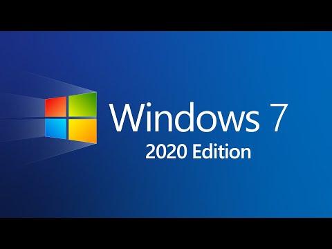 Windows 7 2020 Edition (Concept)
