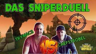 Trymacs vs. Chefstrobel - DAS SNIPERDUELL | Fortnite Battle Royale