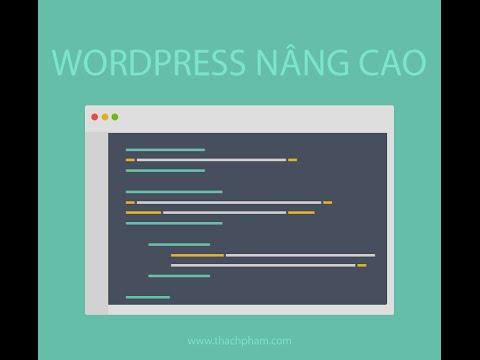 WordPress Nâng Cao [09] – Cách tạo widget