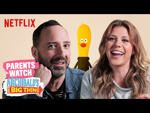 Celebrity Parents React to Archibald's Next Big Thing   Netflix