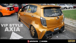 Perodua Axia Gold Black Pearl Edition - Race Day Thailand 2017