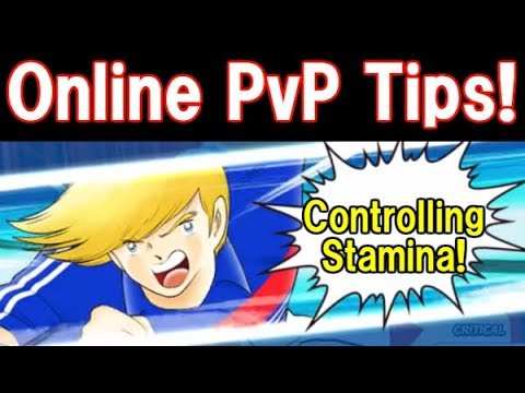 (Captain Tsubasa Dream Team) Online PvP Tips! Control your key player stamina!【たたかえドリームチーム】