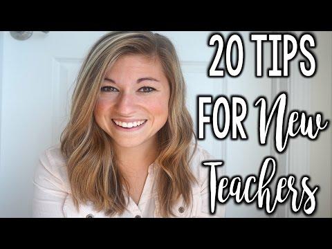 20 Tips for New Teachers | That Teacher Life Ep 8