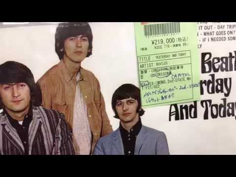 The Vinyl Guide - Disk Union, MASSIVE Record Shop, Shinjuku Tokyo Japan Pt 3   Used Rock, Beatles &