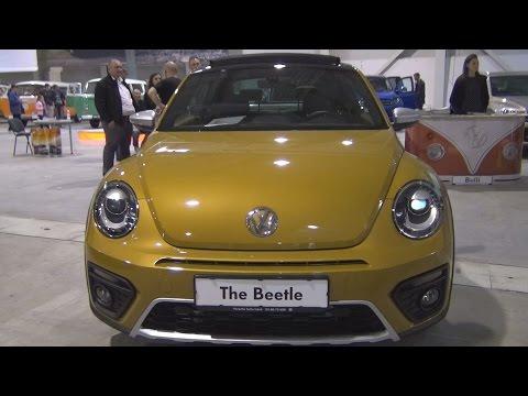 Volkswagen Beetle Dune 1.4 TSI BMT 7-DSG (2017) Exterior and Interior in 3D