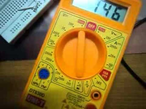 How To Use Digital Multimeter Youtube