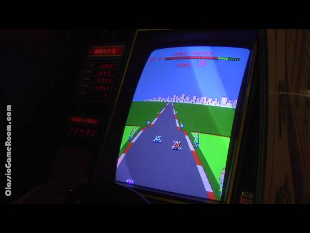 Classic Game Room - TURBO arcade game review