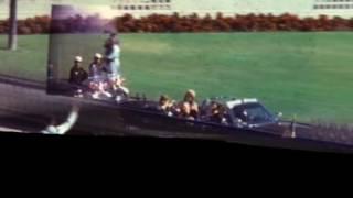ケネディ大統領暗殺場面