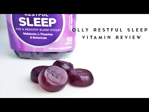 Olly Restful Sleep Blackberry Zen Review Youtube