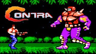 Contra: прохождение Контра (NES, Famicom, Dendy)