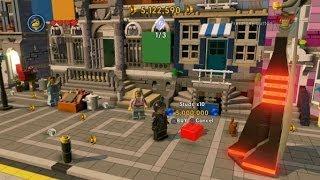 The LEGO Movie Videogame - X10 Stud Multiplier Red Brick Location - 5 Cats in Bricksburg
