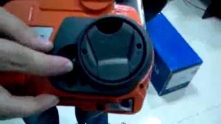 видео Бензопила Husqvarna 440E II