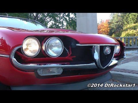 Alfa Romeo Montreal driven hard