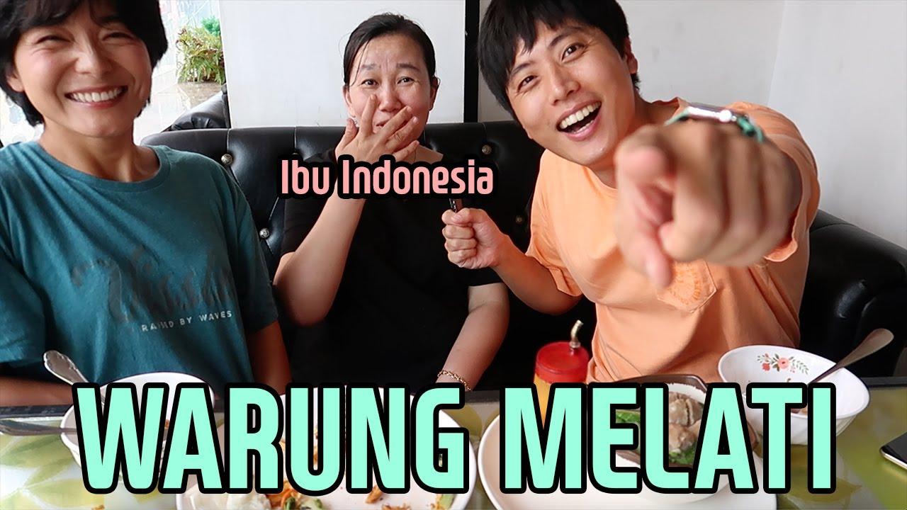 Cobain Restoran Indonesia yg dibuka oleh Ibu Indonesia di Korea - Warung Melati