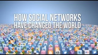 how social networks have changed the world