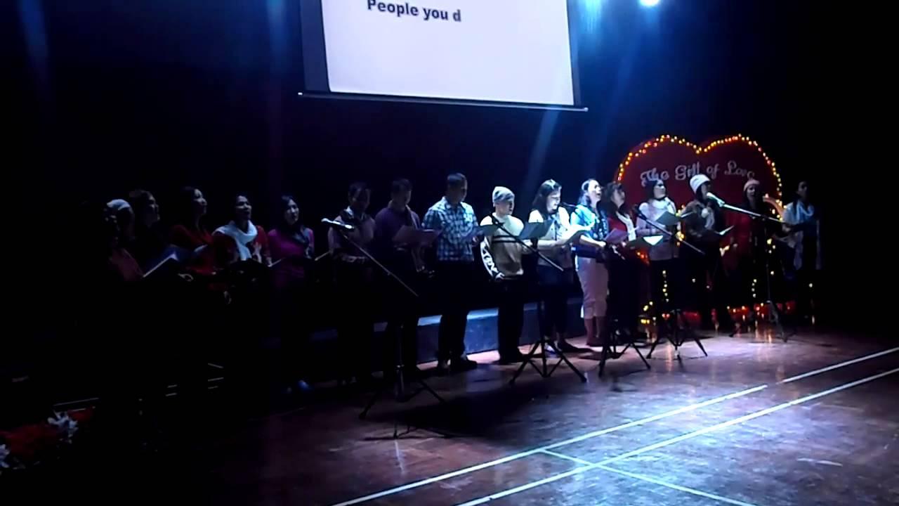 Give love on Christmas day - VIFC choir - YouTube
