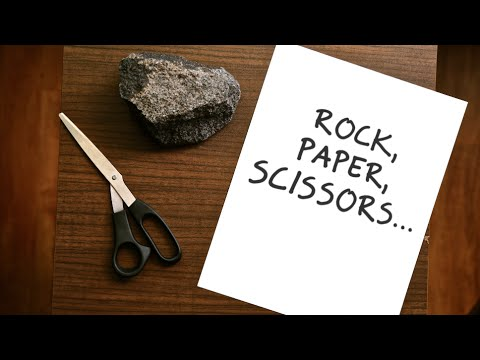 """Rock, Paper, Scissors..."" A Deep Sheep Original"