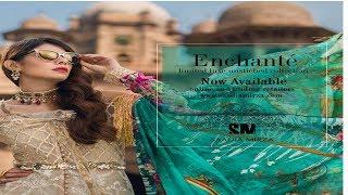 Saadia Mirza Luxury Chiffon Unstitched Collection 2018