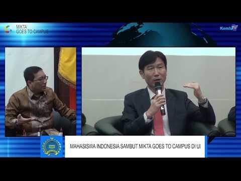 Mahasiswa Indonesia Sambut MIKTA Goes to Campus di UI, Depok, 8 Februari 2018